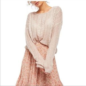 Free People Angel Soft Pullover Knit S